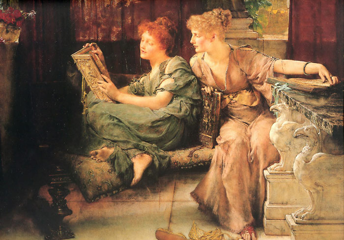 Paintings Reproductions Alma-Tadema,Sir Lawrence Comparisons, 1892