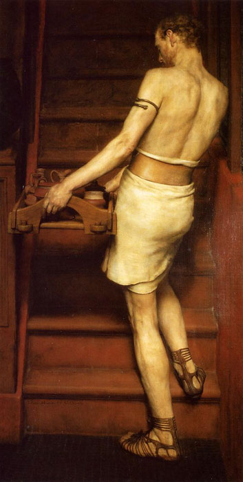 Paintings Reproductions Alma-Tadema,Sir Lawrence The Roman Potter, 1884
