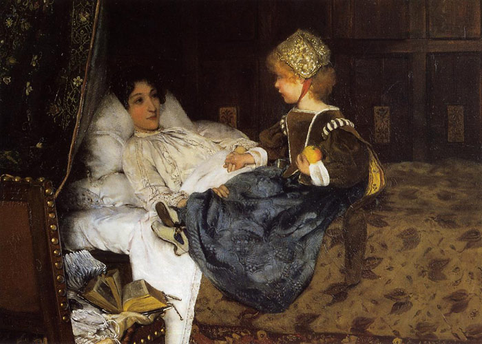 Sir Lawrence Alma-Tadema Reproductions-Always Welcome, 1887