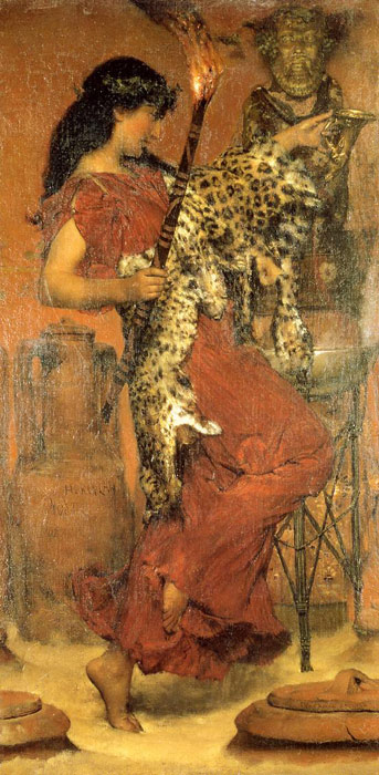 Paintings Reproductions Alma-Tadema,Sir Lawrence Autumn: Vintage Festival, 1877