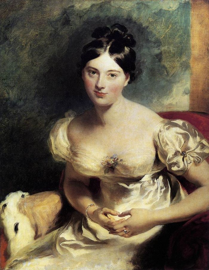 Sir Thomas Lawrence Reproductions-Margaret, Countess of Blessington, 1822