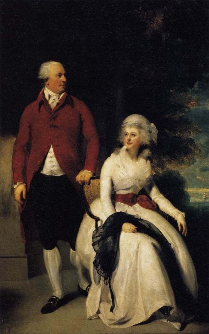 Sir Thomas Lawrence Reproductions-Mr and Mrs John Julius Angerstein, 1792