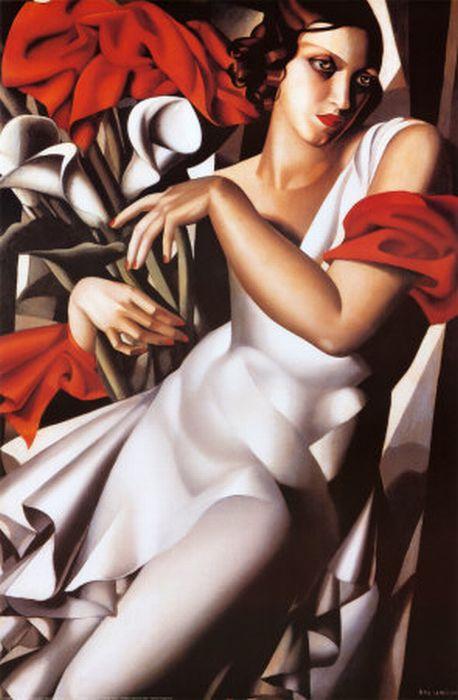 Tamara Lempicka Portrait Oil Painting