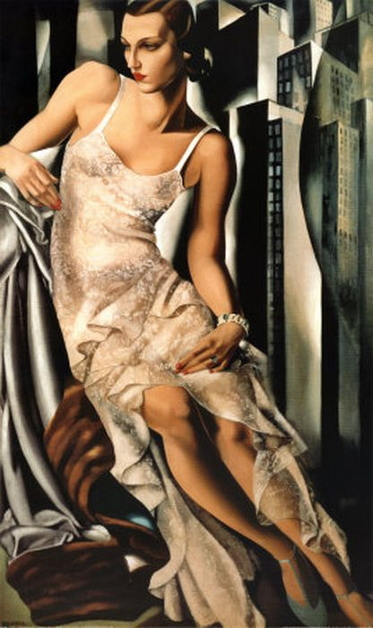 Paintings Lempicka, Tamare de