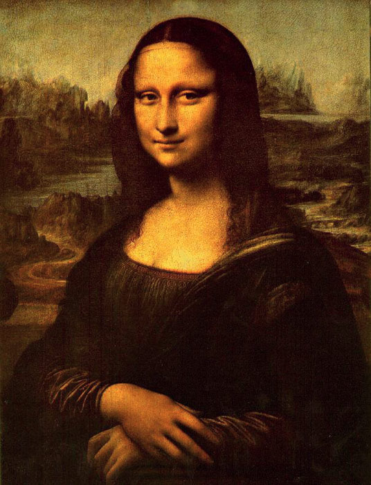 Paintings Reproductions Leonardo da Vinci Mona Lisa, c.1503-1505
