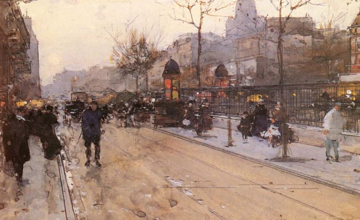 Paintings Luigi Loir