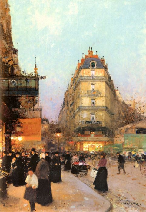 Luigi Loir Reproductions-Les Grands Boulevards