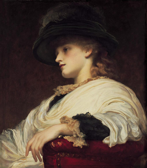 Paintings Reproductions Leighton, Lord Frederick Phoebe