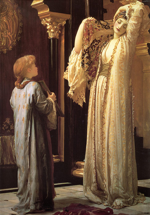 Paintings Reproductions Leighton, Lord Frederick Light of the Harem, c.1880