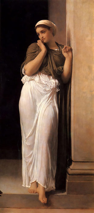 Lord Frederick Leighton Reproductions-Nausicaa, c.1878