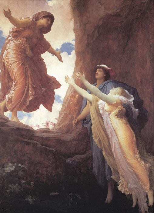 Lord Frederick Leighton Reproductions-Return of Persephone, c.1891