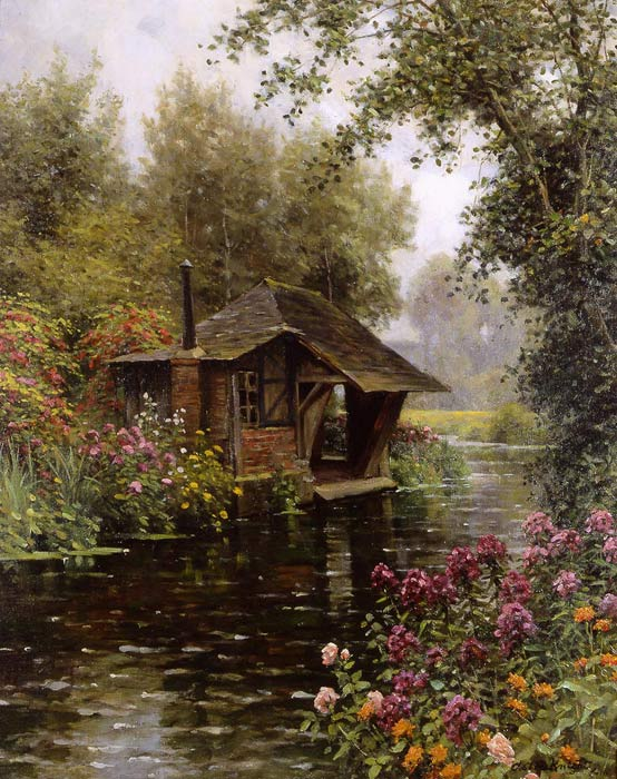 Louis Aston Knight Reproductions-A Beaumont-le-Roger [At Beaumont-le-Roger]