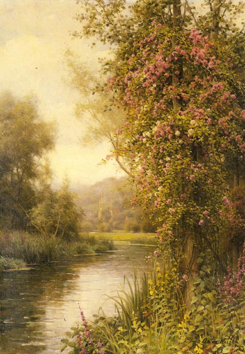 Louis Aston Knight Reproductions-A Flowering Vine