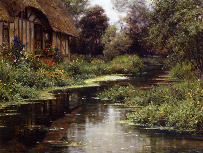 Louis Aston Knight Reproductions-Summer Afternoon, Normandy