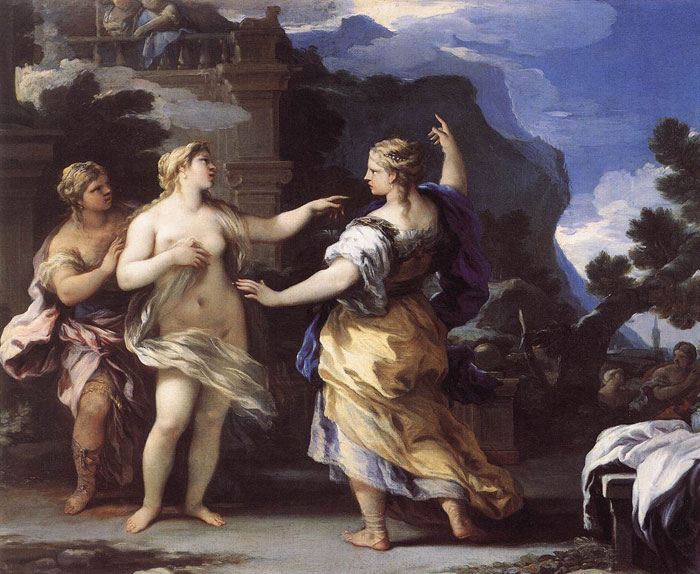 Paintings Luca Giordano