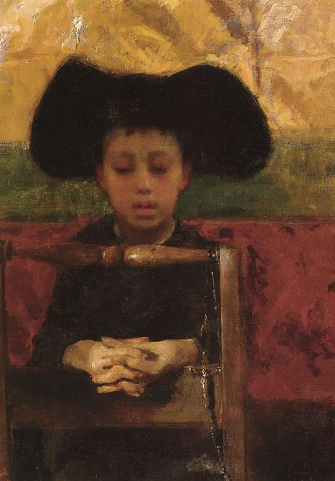 Paintings Antonio  Mancini
