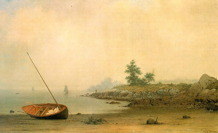 Martin Johnson Heade Reproductions-The Stranded Boat, 1863