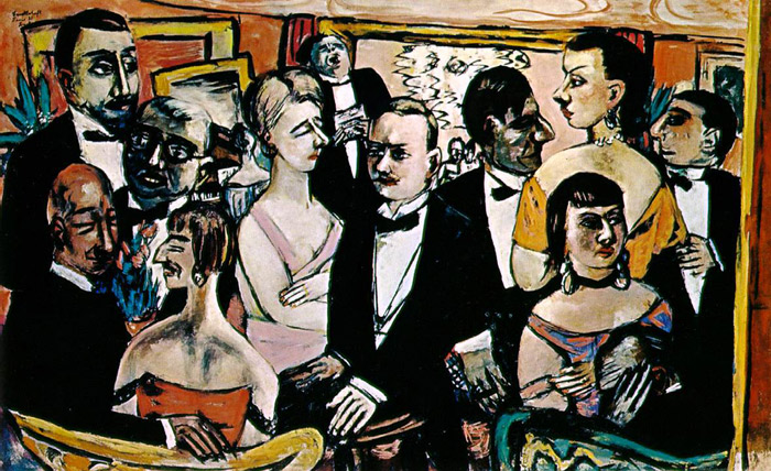 Paintings Reproductions Beckmann, Max Party in Paris, 1931(reworked 1947)