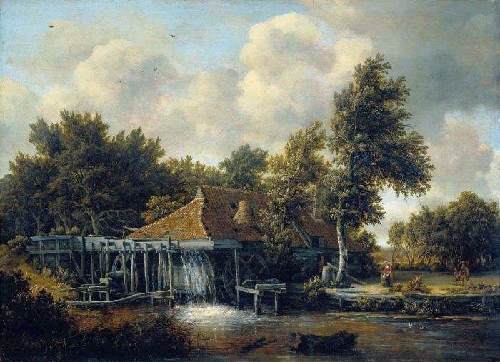 Paintings Meindert Hobbema