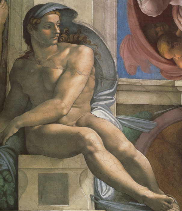 Michelangelo  Reproductions-Ceiling of the Sistine Chapel, 1508-1512