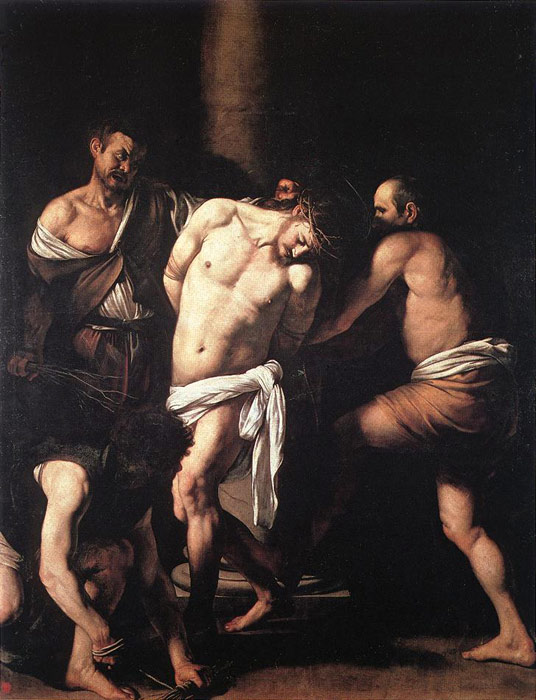 Paintings Reproductions Caravaggio, Michelangelo Merisi da Flagellation, c.1607