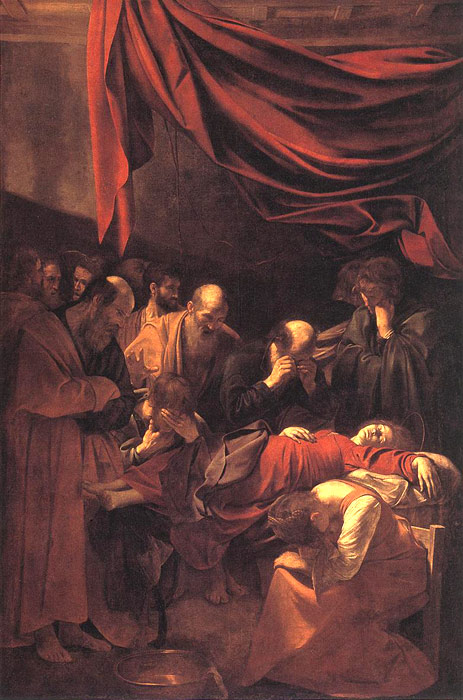 Michelangelo Merisi da Caravaggio Reproductions-The Death of the Virgin, 1606