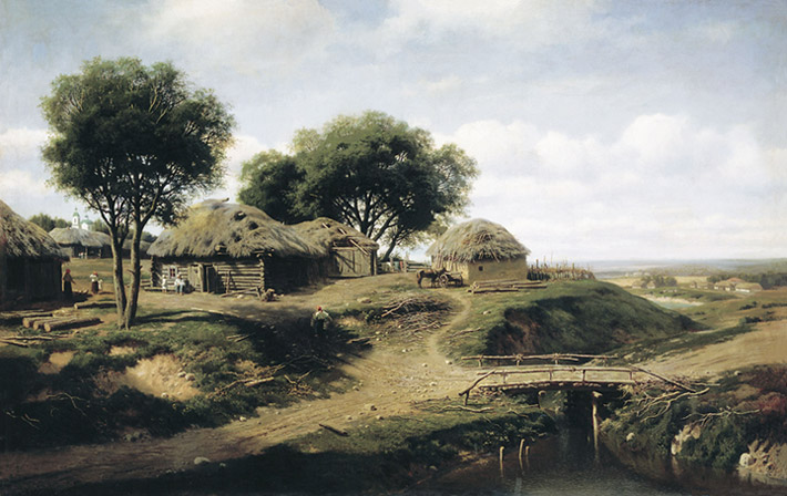 Paintings Mikhail Konstantinovich Klodt