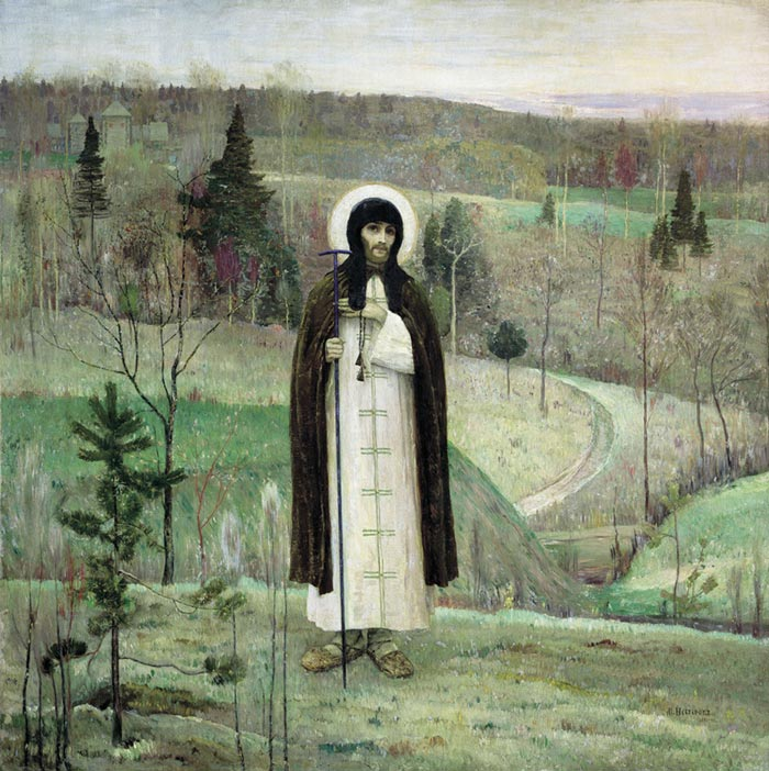 Paintings Mikhail Vasilyevich Nesterov