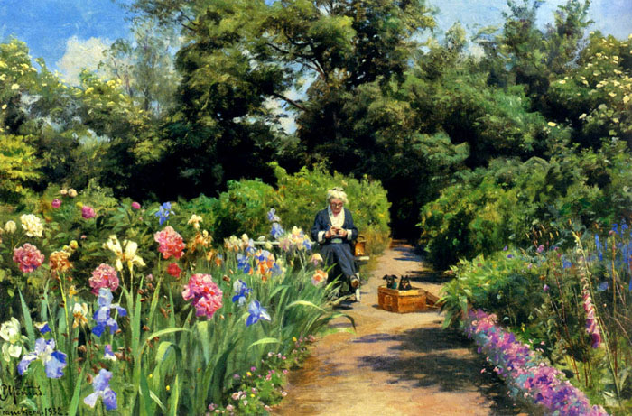 Paintings Peder Mork Monsted