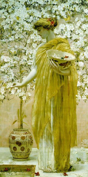 Paintings Albert Joseph Moore