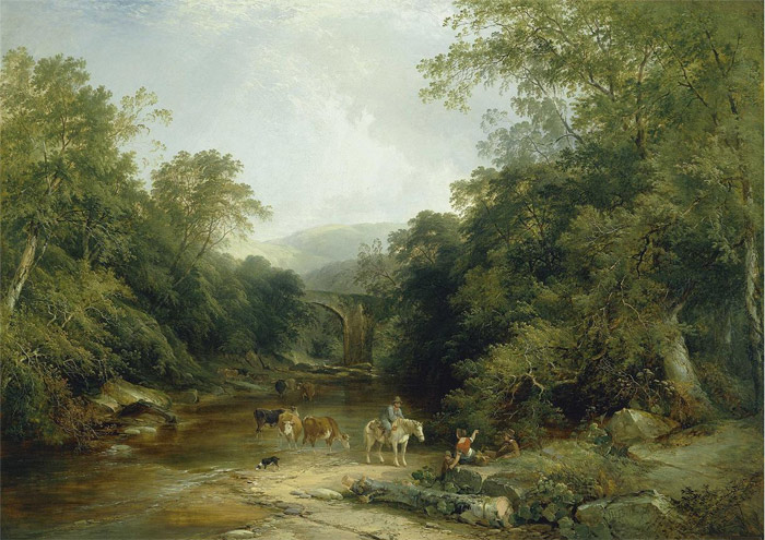 Henry John Boddington Reproductions-The Vale of Ashburton, South Devon, 1844