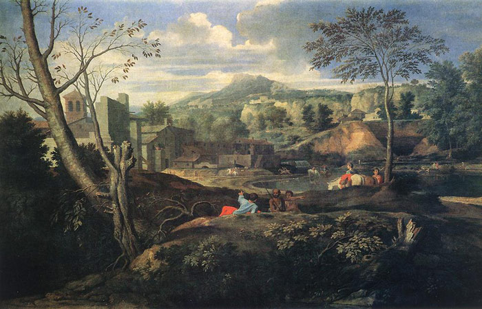 Paintings Nicolas Poussin