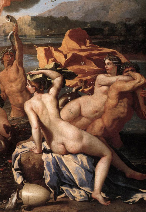 Nicolas Poussin Reproductions-The Triumph of Neptune ,  1634