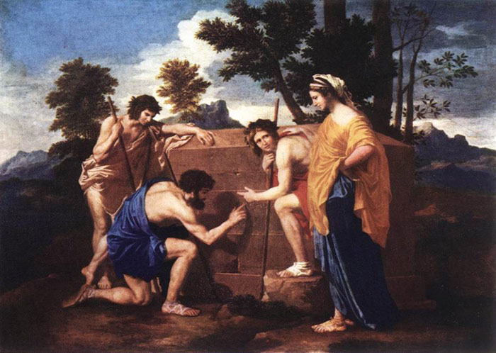 Paintings Reproductions Poussin, Nicolas 'Et in Arcadia ego', 1637-1639