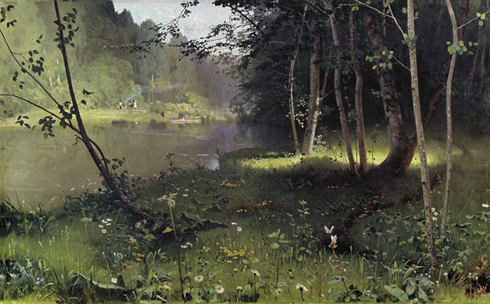 Nikolay Nikanorovich Dubovskoy Reproductions-Forest River