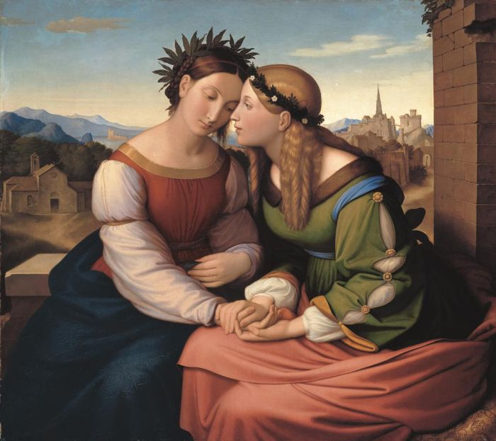 Paintings Friedrich Overbeck