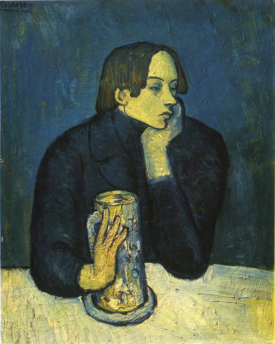 Pablo Picasso Reproductions-Portrait of a Poet, 1902