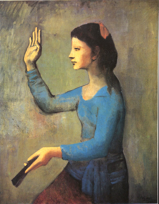 Pablo Picasso Reproductions-Girl, 1905