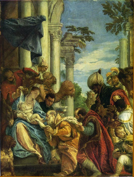 Paintings Reproductions Veronese, Paolo The Adoration of the Magi