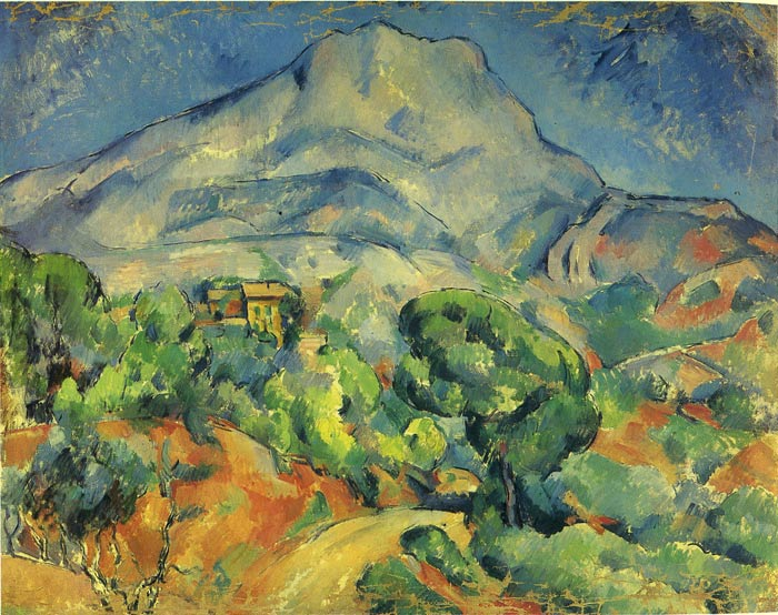 Paintings Reproductions Cezanne, Paul Mont Sainte -Victoire , 1898