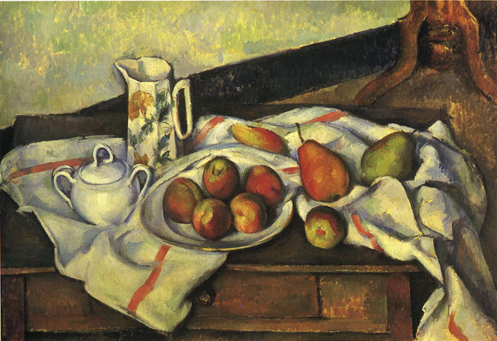 Paul Cezanne Reproductions-Peaches, 1890