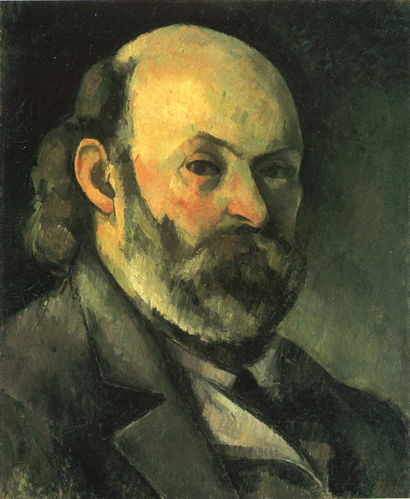 Paul Cezanne Reproductions-Self Portrait, 1885