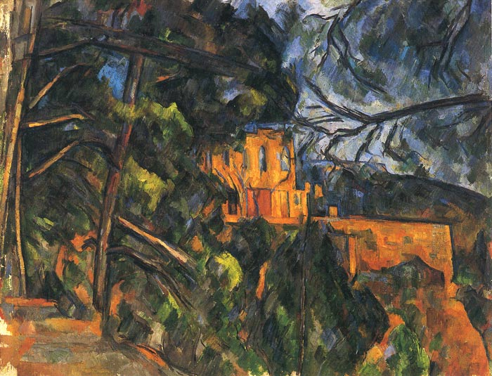 Paintings Reproductions Cezanne, Paul Chateau Noir, 1904