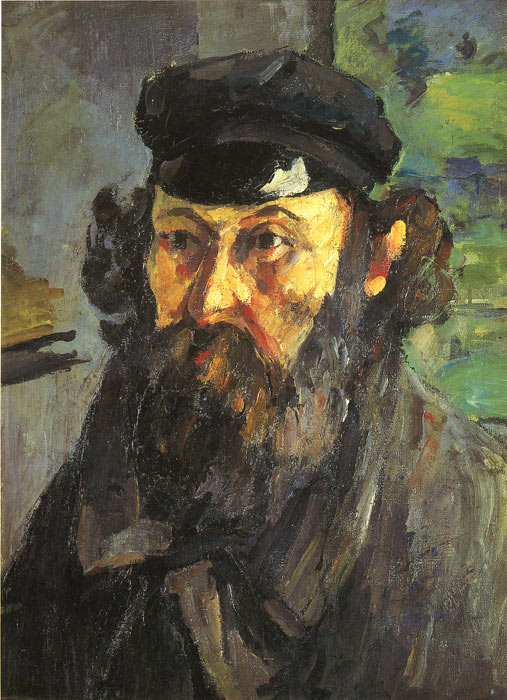 Paintings Reproductions Cezanne, Paul Self Portrait, 1873