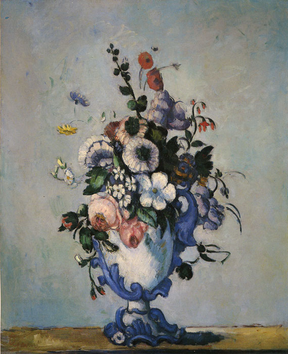 Paul Cezanne Reproductions-Bouquet in Rococo Style, 1876