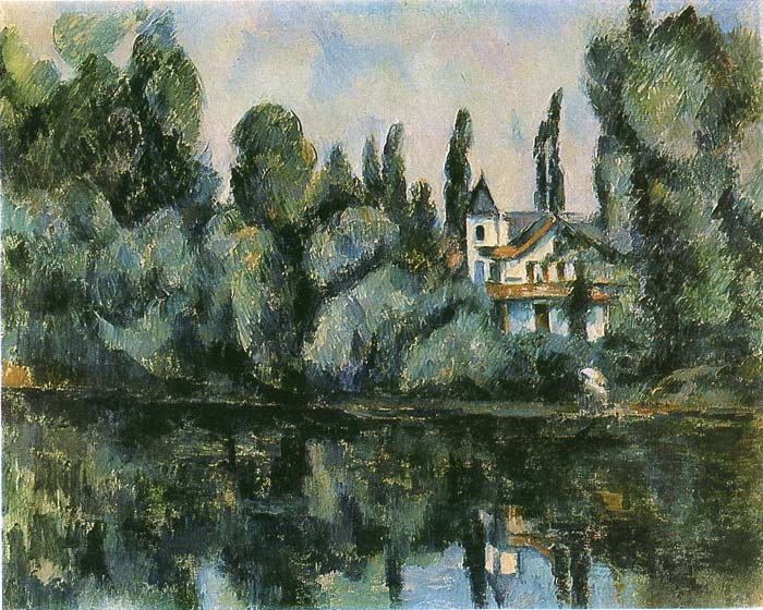 Paintings Reproductions Cezanne, Paul The Banks of the Marne, 1888