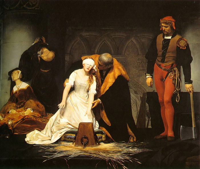 Paintings Paul Delaroche