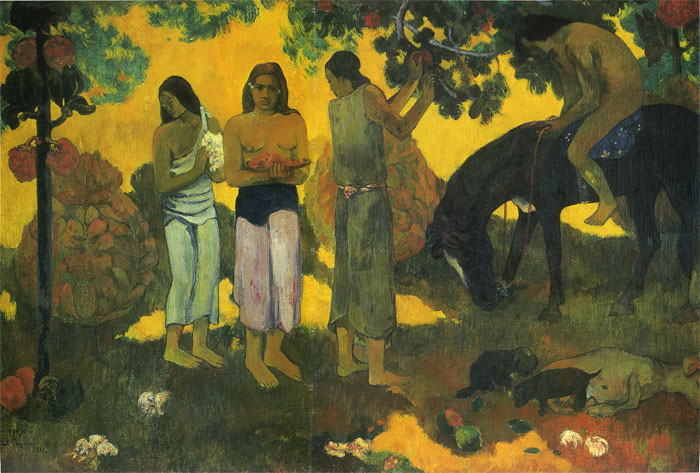 Paintings Reproductions Gauguin, Paul Ruperupe, 1899