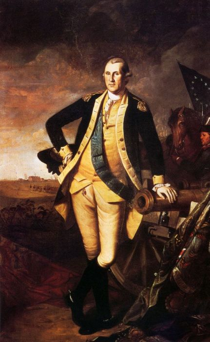 Charles Willson Peale Reproductions-George Washington At Princeton, 1779