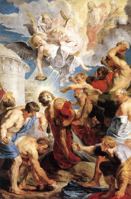 Peter Paul Rubens Reproductions-The Martyrdom of St. Stephen